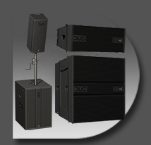 Active Optimized Line Array Loudspeakers&Subs